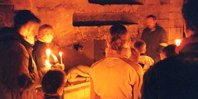 De Romeinse Katakomben in Valkenburg aan de Geul