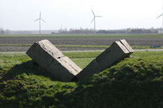 Land art in  Flevoland