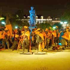 De Nachtwachtin Oranje stemming