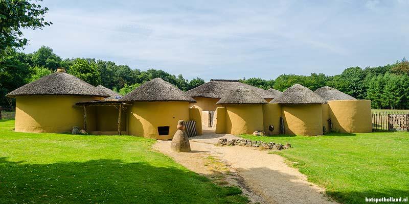 Ghanees dorpje in het Afrika museum