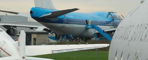 Vliegtuigmuseum Aviodrome bij Lelystad