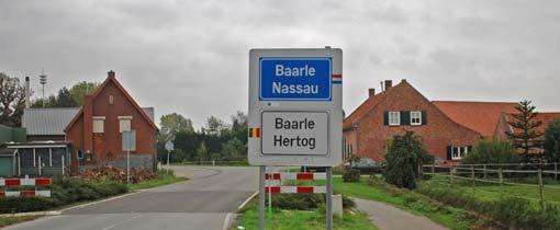 Baarle Nassau en Baarle Hertog
