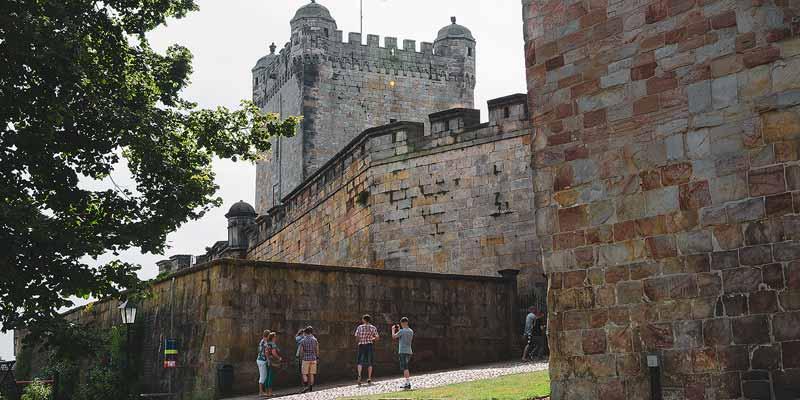 Het grote kasteel in Bad Bentheim