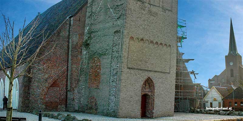 Schaive toren Bedum. De scheefste toren van Nederland in Groningen