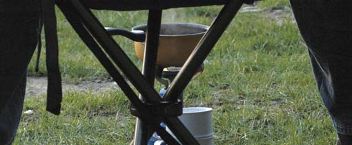 Koken op de camping, het blijft behelpen