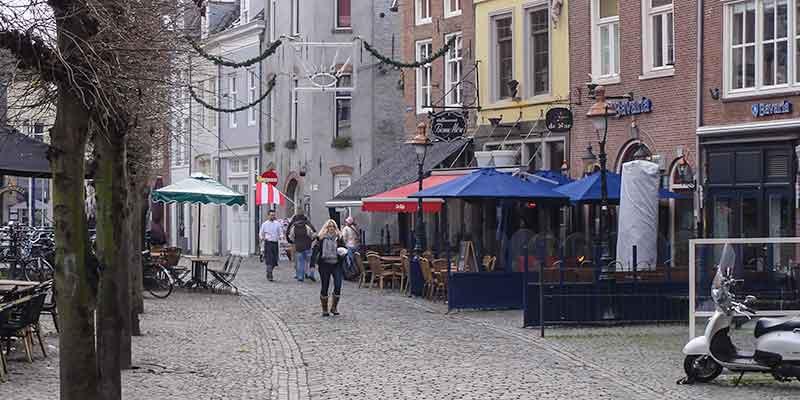 Straatje in Den Bosch
