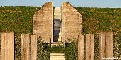 Leuke uitstapjes Doorgezaagde bunker 599 bij Culemborg