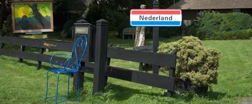 Welkom in het plaatsje Nederland