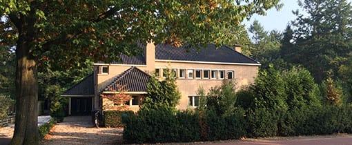 De Wikke, de villa van Dudok aan de Utrechtseweg 71 Hilversum