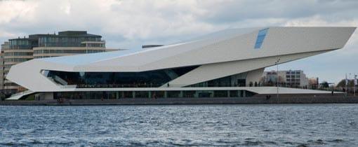 Eye aan het IJ in Amsterdam-Noord