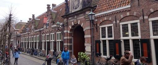 Het Frans Hals museum in het centrum van Haarlem