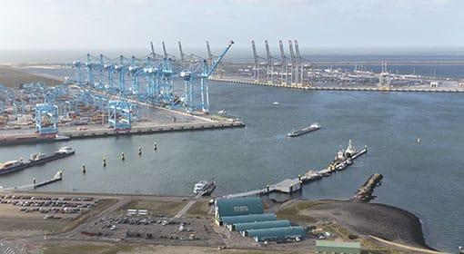 FutureLand op de Maasvlakte van Rotterdam