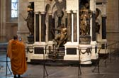 Het graf van Willem van Oranje in de Nieuwe Kerk van Delft