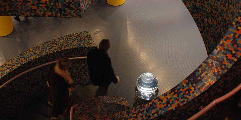 De spectaculaire trap van het Groninger Museum
