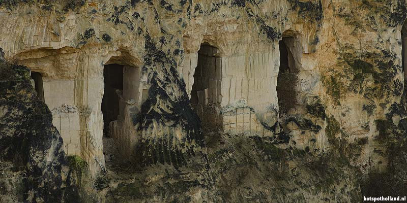 Grotten in de Sint-Pietersberg bij Maastricht