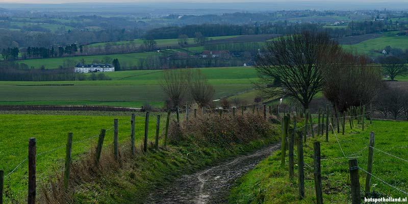 Het Limburgse heuvellandschap verveeld nooit