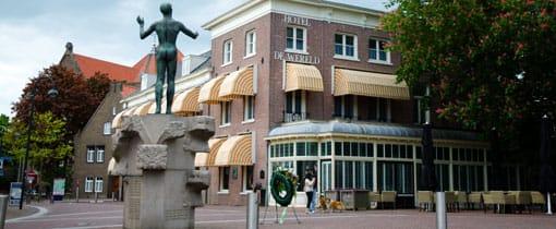 In Hotel De Wereld in Wageningen werd geschiedenis geschreven