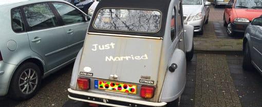 Nog even en je bent: Just Married