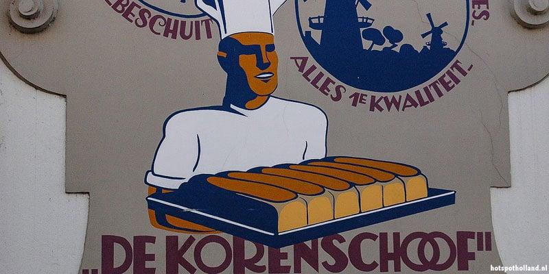De Korenschoof. Eén van de 30 muurschilderingen in Kampen