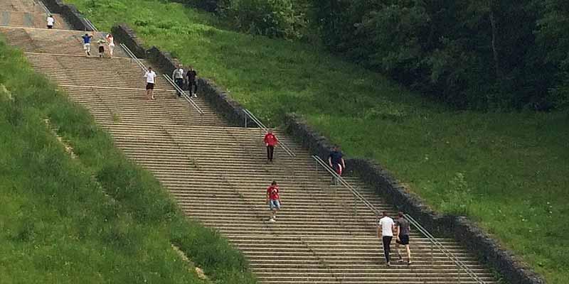 Longest stairway