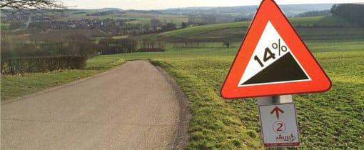 Een bergetappe rijden in de Dutch Mountains van Zuid Limburg... zwaar!