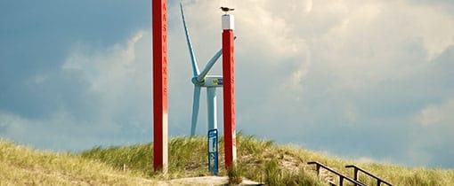Strandopgang van de Tweede Maasvlakte