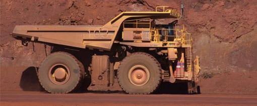 In tegenstelling tot Limburg wordt in Australie veelal met open mijnen (dagbouw) gewerkt