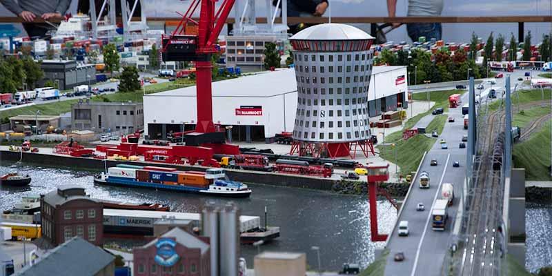 Rotterdam in het klein in Miniworld Rotterdam