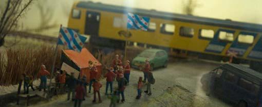 De Wadloper is van de vele modellen in het treinenmuseum