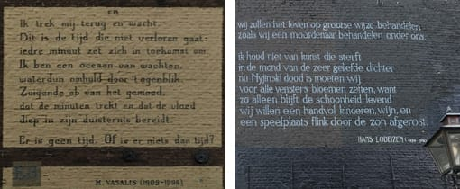 Muurgedichten Leiden