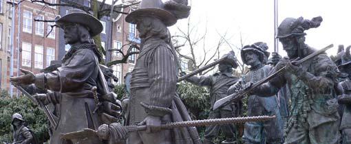 De mannen van de burger-compagnie van kapitein Frans Banning Cocq