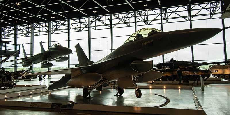 Vliegtuigen in het Nationaal Militair Museum