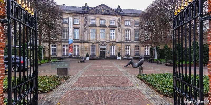 Het Noordbrabants Museum in het Museumkwartier van Den Bosch