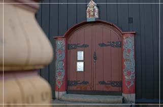 De Noorse kerk in Rotterdam