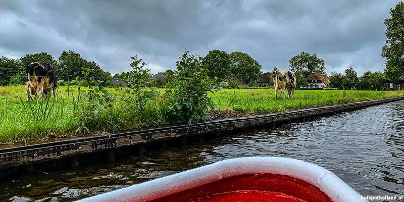 NP De Weerribben-Wieden vanaf het water