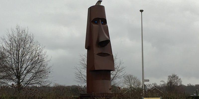 Moai Paaseilandbeeld Wanssum, Limburg