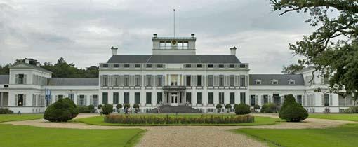 Het Koninklijk Paleis Soestdijk in Baarn