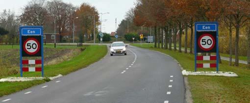 Tellen met plaatsnamen: hier het dorpje 'Een' in Drenthe dat ooit beroemd werd door een kapper met een wonder haargroeimiddel