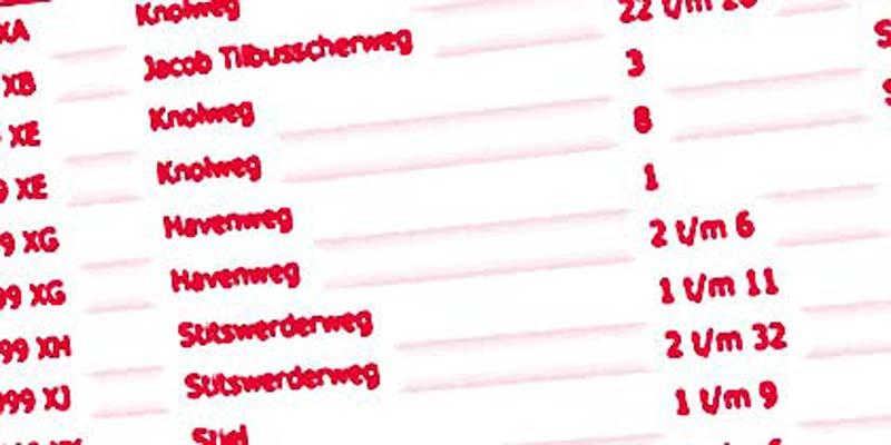 9999: De hoogste postcode van Nederland