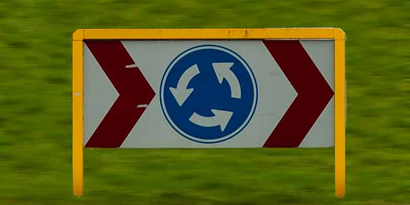 Ronddraaiende rotondekunst in Tilburg