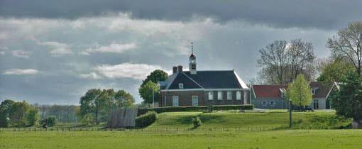 Museum Schokland at Middelbuurt, Holland, Netherlands - Schokland ...