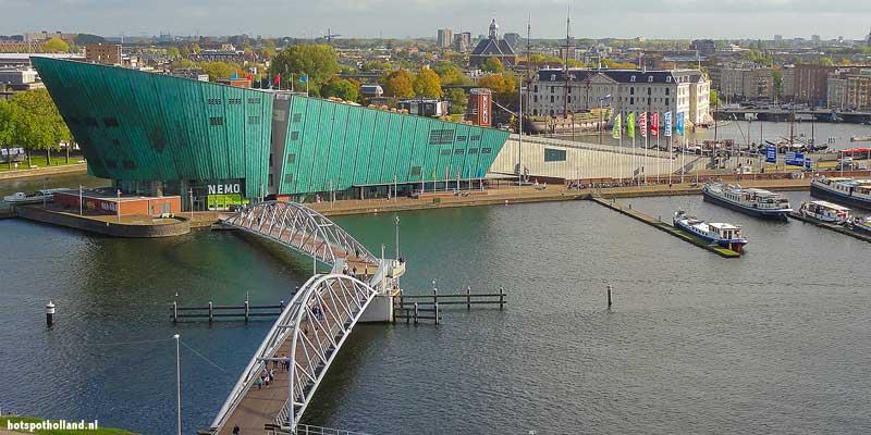 Science center NEMO in Amsterdam