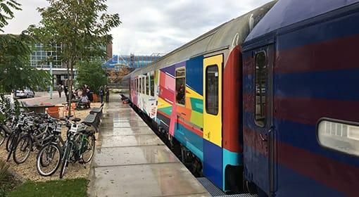 Bijzondere overnachting: De Train Lodge Amsterdam Sloterdijk