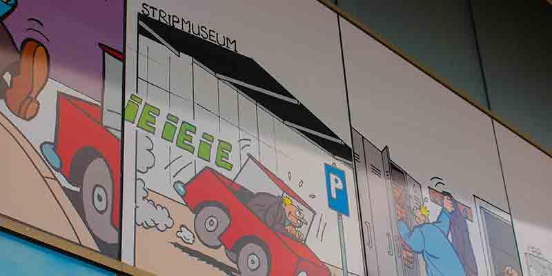 Het Stripmuseum inGroningen