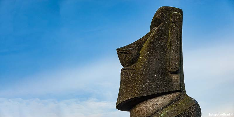 De Dromer van Rapa Nui: Paaseilandbeeld op Texel