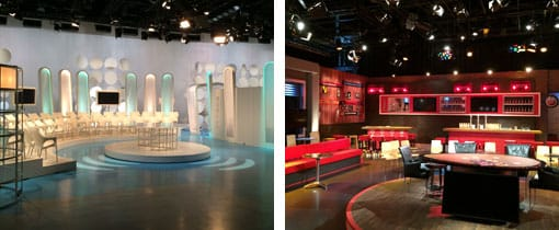 TV Studios op het Mediapark