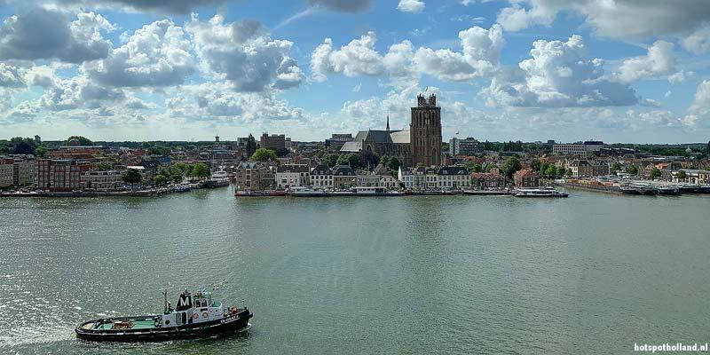 Uitzicht op Dordrecht