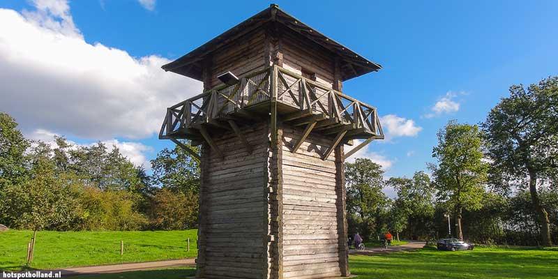 Romeinse toren van het Castellum Fectio in Utrecht