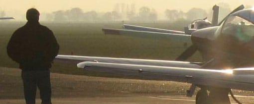 Ready for take-off op vliegveld Bosschenhoofd