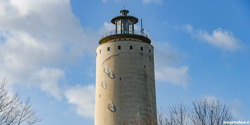 Watertoren Oostburg. Nat van buiten - droog van binnen